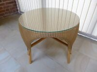 Genuine Lloyd Loom small table