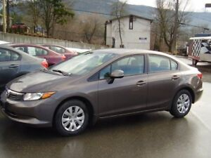 2012 Honda Civic Sedan only 82,000kms