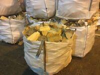 Firewood Blocks, bulk bags
