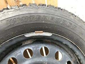New Firestone Winterforce tires with rims - 185/65R15""