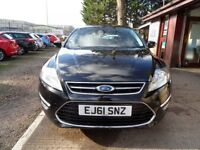 FORD MONDEO 2.0 TITANIUM TDCI 5d 138 BHP 1 OWNER FROM NEW (black) 2011