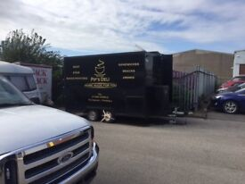 Mobile Cateing trailer LIVERPOOL