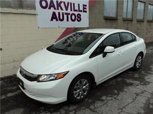 2012 Honda Civic Sdn LX-WARRENTY-SAFETY & ETEST INCLUDED