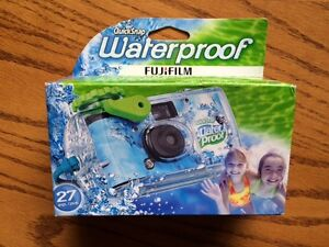 WATERPROOF ONE-TIME USE CAMERA