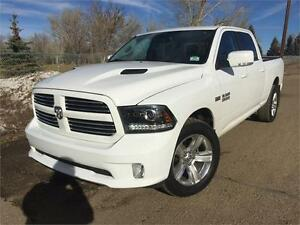 2014 Ram 1500 Crewcab 4x4 SPORT **LEATHER-NAV-SUNROOF**