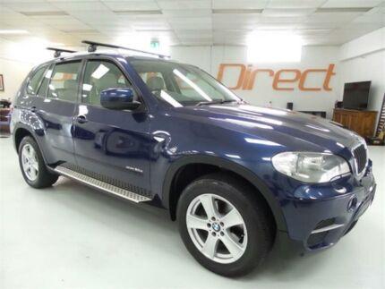 2011 BMW X5 E70 xDrive30d Blue Sports Automatic Wagon