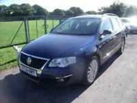 VOLKSWAGEN PASSAT HIGHLINE TDI Blue Manual Diesel, 2008