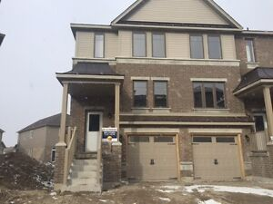 BRAND NEW 4 Bedroom End-Unit Town in Kitchener - Mar/Apr 1st