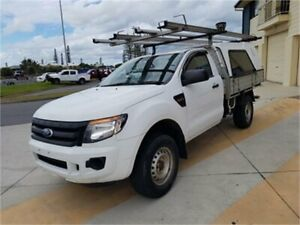 2015 Ford Ranger PX XL 2.2 Hi-Rider (4x2) White 6 Speed Automatic Cab Chassis Cleveland Redland Area Preview