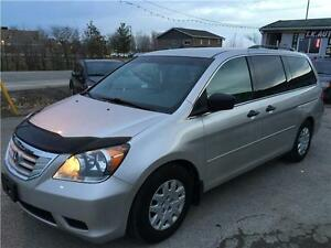2008 HONDA ODYSSEY 8pass CERTIFIED & E-TEST, ON SPECIAL