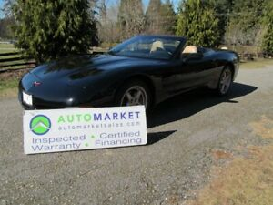 2001 Chevrolet Corvette AUTO, LOADED, INSP, FREE BCAA MBSHP, FRE
