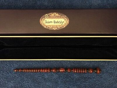 "Dolores Umbridge Wand 10.5"", Harry Potter, Ollivander's, Noble, Wizarding World, usado comprar usado  Enviando para Brazil"