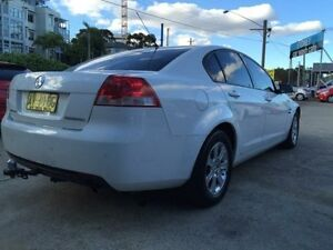 2008 Holden Commodore VE Omega White 4 Speed Automatic Sedan Kogarah Rockdale Area Preview