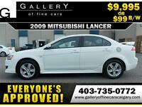 2009 Mitsubishi Lancer DE $99 BI-WEEKLY APPLY NOW DRIVE NOW