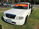2003 Mazda B2600 Bravo DX White 5 Speed Manual Cab Chassis Clontarf Redcliffe Area image 2