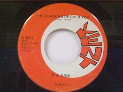 B B King  Im Cracking Up Over You   Power House  45 Near Mint
