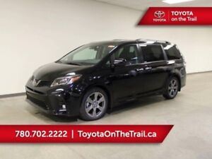 2019 Toyota Sienna SE 8 PASSENGER; LEATHER, HEATED SEATS, SAFETY