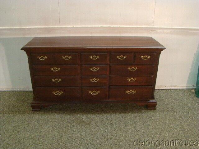 61620:thomasville Solid Cherry Dresser