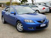 2007 Mazda 3 BK10F2 Neo Blue 4 Speed Sports Automatic Sedan Wangara Wanneroo Area Preview