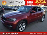 2009 BMW X6 35i XDRIVE AWD TURBO 90 DAYS NO PAYMENTS! $300 BW