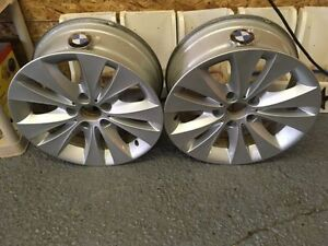 like new! bmw 17 inch rims