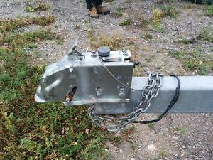 Remorque en acier galvanisé pour bateau Lac-Saint-Jean Saguenay-Lac-Saint-Jean image 4