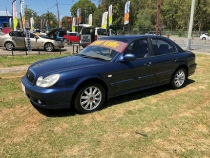 2005 Hyundai Sonata EF-B GL Blue 4 Speed Auto Selectronic Sedan Clontarf Redcliffe Area Preview