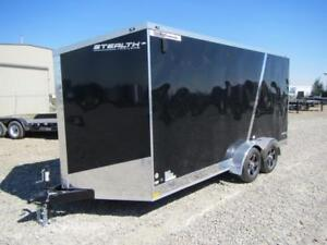 STEALTH TITAN *** 7x16 *** Extra Height SXS Hauler Package !