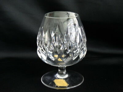 Nachtmann Crystal Clear Cut Contessa 3 3/4 inch Brandy Snifter Excellent Cond