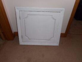 White Loft Hatch