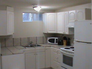 Down town 3 bedroom basement suite furnished