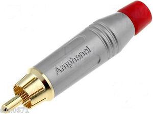 AMPHENOL-ACPR-SRD-Spina-RCA-rossa