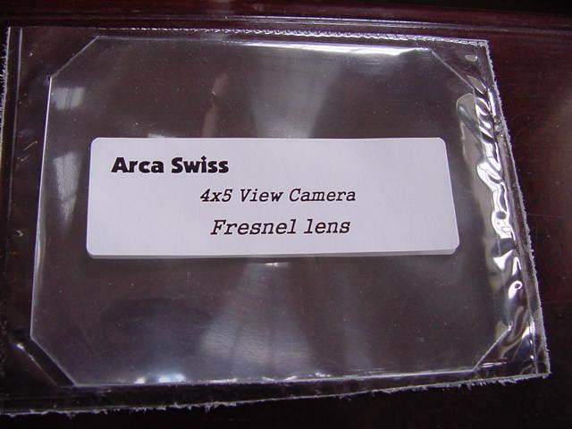как выглядит Пленочный фотоаппарат New Arca Swiss 4x5 Camera Fresnel Lens + Ground Glass-Best quality фото