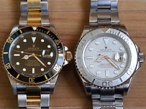 ROLEX SUB AND YACHT MASTER...EXCHANGE FOR PATEK PHILIPPE WATCH