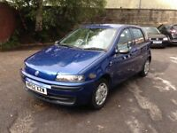 FIAT PUNTO 1.2 ACTIVE 5 DOOR - NEW M.O.T - EXCELLENT CHEAP CAR