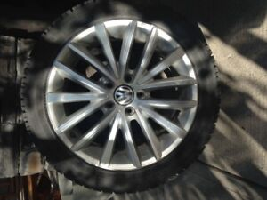 4 VW Golf or Jetta Rims and Tires