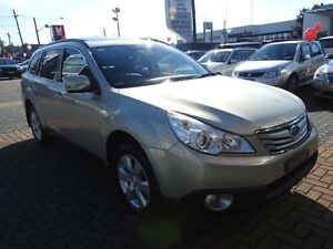 2010 Subaru Outback MY10 2.5I Premium Champagne Continuous Variable Wagon Croydon Burwood Area Preview