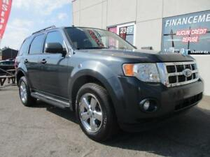 2009 Ford Escape LIMITED AWD 4X4 V6 CIUR TOIT  GARANTIE INCLUS