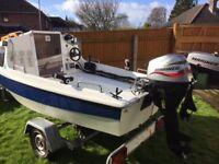 13ft Fishing Boat Cabin Cruiser