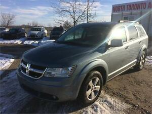 2010 DODGE JOURNEY SXT - POWER OPTIONS - 7 PASSANGER - LOW KM