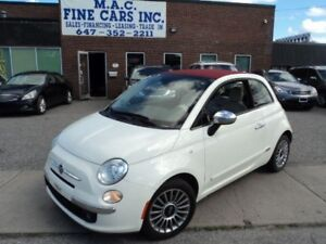 2012 Fiat 500 Lounge - LEATHER - CERTIFIED
