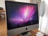 "Apple iMac 24"" Aluminium 2.4ghz 4GB Ram"