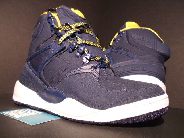 REEBOK THE PUMP UNDEFEATED UNDFTD RAIN CHECK FRIENDS & FAMILY BLUE YELLOW NEW 10