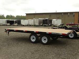 16' Flatdeck Trailer Kitchener / Waterloo Kitchener Area image 3