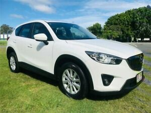 2013 Mazda CX-5 MY13 Upgrade Maxx Sport (4x4) White 6 Speed Automatic Wagon Southport Gold Coast City Preview