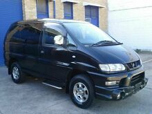 2006 Mitsubishi Delica SPACEGEAR V6 3.0 lt Black 4 Speed Automatic Wagon Caringbah Sutherland Area Preview