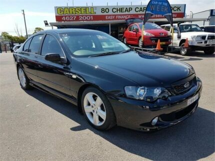 2004 Ford Falcon BA XR6 Black 4 Speed Sports Automatic Sedan Campbelltown Campbelltown Area Preview
