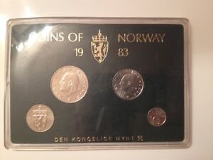 Coins of Norway 1983 ~ Uncirculated