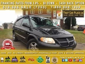 2004 Dodge Caravan SE-Tint-Cruise-LowPrice-AC/Heat-CD-Tilt