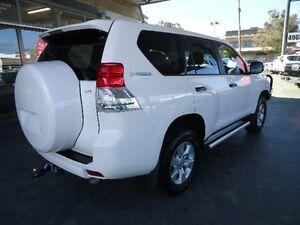 2012 Toyota Landcruiser Prado KDJ150R 11 Upgrade GX (4x4) White 5 Speed Sequential Auto Wagon Hamilton Newcastle Area Preview